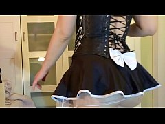 Naughty Maid Masturbate Alone at Home