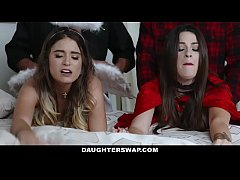 HD daughterswap lacey channing and pamela morrison 12minute byl