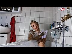 My Dirty Hobby - Tattoed babe masturbates in bathtub