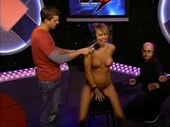Leticia Cline rides the Sybian