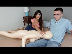 MIA KHALIFA - Nerdy Fan Gets To Lose His Virginity To The #1 Pornstar In The World