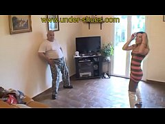 Miss Christyna extreme with boots busting