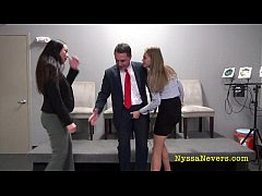 Ballbusting: TRUMPED YOUR BALLS! (Nyssa Nevers, Star Nine and Andrea Diprè)
