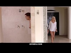 Dyked - Hot Blonde Teen Seduced By Lesbian Milf