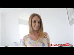 Meeting My New Hot Teen Step Sister Daisy Stone With A 69