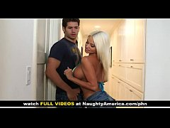 Nikita Von James gets her big tits fucked by friendâ  s boyfriend