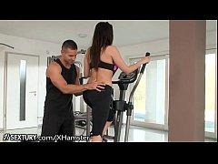 Aletta Ocean fucks at the gym - more videos: http:\/\/www.forropuncik.hu
