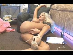 Blonde With Amazing Body And Tits On Floor