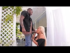 Busty bombshell Bridgette B. rides big black monster cock until she cums