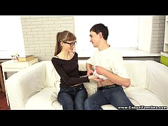 Casual Teen Sex - Nerdy xvideos teeny Elena youporn gets tube8 excited teen porn