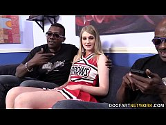 Summer Carter Gets Fucked By Three Black Guys