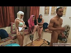 Teacher group xxx Hot arab gals try foursome