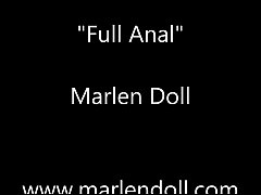 HD First Anal Of Marlen doll
