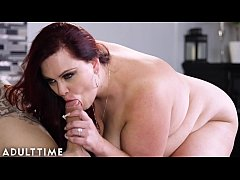 Lingerie Clad BBW Has Romantic Sex with Stud After Baking Him Cupcakes