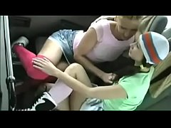 Lesbian Teens Get Freaky On A Bus - Watch Pt 2 At MyLocalCamGirls.com