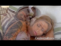 CrushGirls - Ryan and Raquel share a pillow talk dream