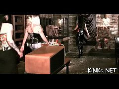 Unrestricted fucking includes femdom thrashing for knob