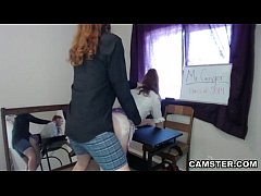 Teacher creampies schoolgirl in his classroom