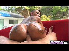 (bella bellz) Big Butt Girl Get Oiled And Anal On Camera mov-05