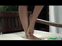 Amazing foot play with Shona