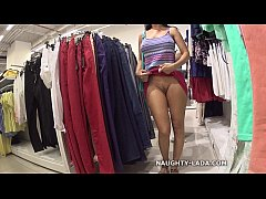 HD Public Flashing in the mall