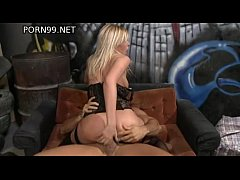 Anal with a blonde