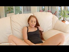 Hardcore gonzo creampie for Jenny Glam at  All internal