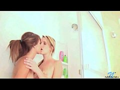 Riley Anne and Sara James Share Kisses In The Shower