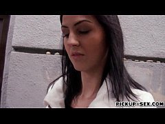 Amateur brunette Czech girl Meg Magic banged wi...