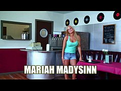 Busty blonde Mariah Madysinn is taking dick fro...