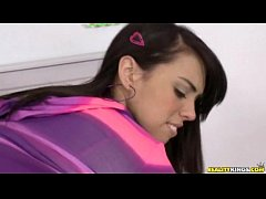 Bent over and fucked teen (Reality Kings » Pure 18)