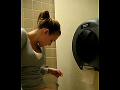 Pleasuring at the toilet