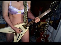 Hallowed Be Thy Name \/ IRON MAIDEN Guitar cover(lingerie ver.)