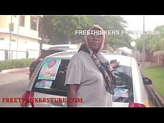 Freethinkers production ghana street pick up big ass girl featuring Nana beauty