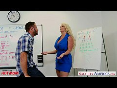 Clip sex Blonde mom Alura Jenson fuck a big shaft