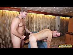 Colby rimming Brenner and fucks his anal