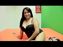 Hada speaks to her brother on the phone and tries to hide she's being drilled by a dark dick!!!