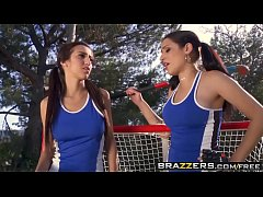 Brazzers - Big Tits In Sports - Big Tits in Field Hockey scene starring April ONeil, Daisy Cruz and