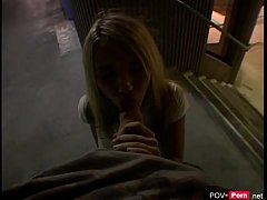 Blonde Girl picked up in Public and fucked - Po...