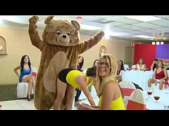 DANCING BEAR - Bachelorette Party With Big Dick Male Strippers, CFNM Style!