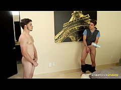 NextDoorStudios Michael DelRay Caught With Buddy's FLESH Light