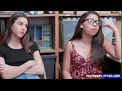 Bad teens Arielle Faye and Jasmine Summers get chance to get off by guard