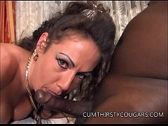 MILF Stewardess Wrecked by Black Dick