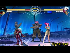 Kuromaru Vs Kula Diamond The Queen of Fighters