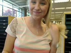 Tasha from www.Mysluttycams.com squirt in library yesterday