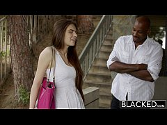 BLACKED First Interracial For Pretty GF Zoe Wood