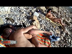 Anal Swinger party at the beach