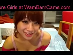 Asian Webcam Girl Plays With Herself - More Gir...
