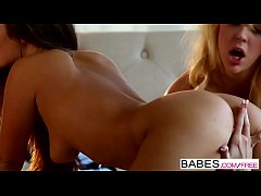 Babes - Tall and Busty  starring  Eva Lovia and Courtney Taylor clip