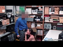 LP Officer banging Sofie Marie's moist pussy so hard!